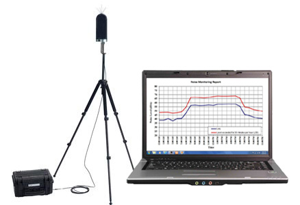 construction noise monitoring system