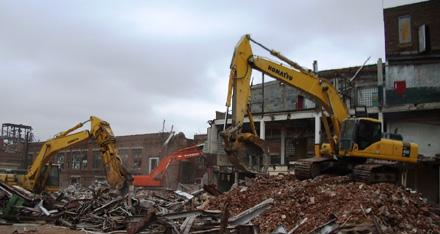 Demolition-vibration-monitoring