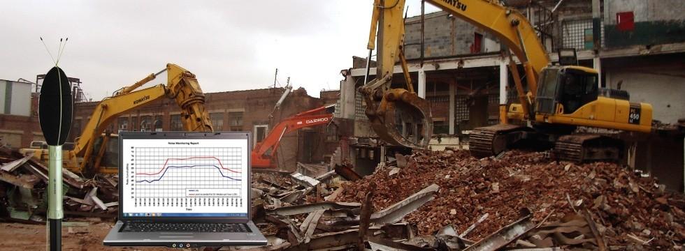 Demolition Noise monitoring