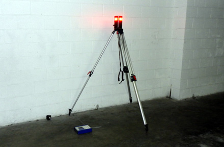 Vibration Monitoring System with Alarm Light