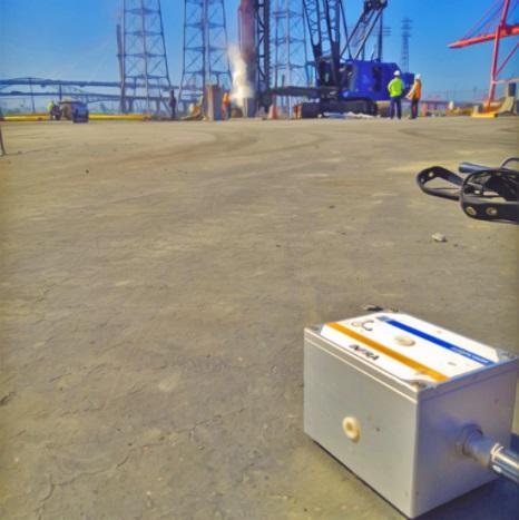 Pile Driving Vibration Monitoring